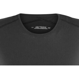 Arc'teryx Phase SL Crew SS Shirt Women Black